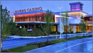 Courtesy of Rush Street Gaming Renderings of the Rivers Casino in Des Plaines, Illinois, created by Rush Street Gaming.